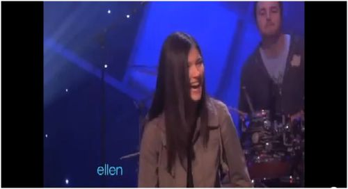 """Sara on The Ellen Show"""