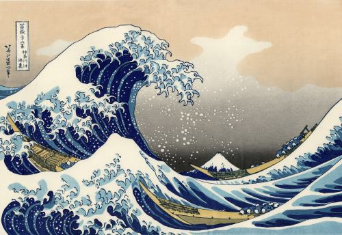 """The great wave"""